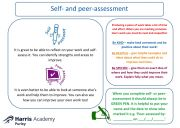 Self and peer-assessment