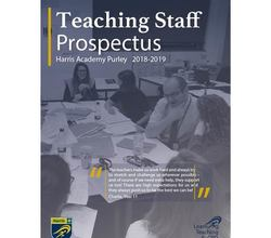 Teaching staff prospectus 2018 cover