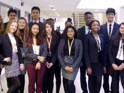 Sixth Form Prefect Team