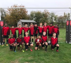 Boys Rugby Team Excel in Plate Competition