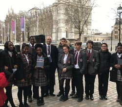 Year 11 Inspired by Harris Westminster Visit