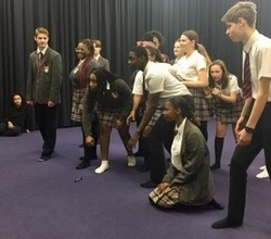Live Theatre and Workshop Inspire Drama Students
