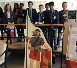 Learning about the Romans at Fishbourne Palace