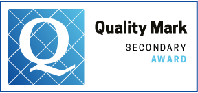 Quality Mark Award   logo for Secondary