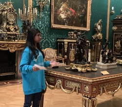 Year 11 Student gives talk at Wallace Collection