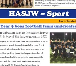 HASJW Sports Newsletter 3rd edition