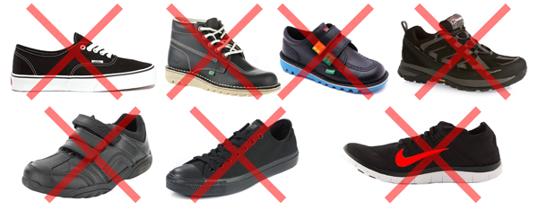 Banned shoes
