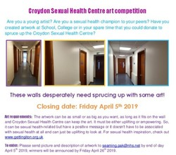 Croydon Sexual Health Centre art competition