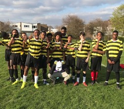 Year 10 in to the Semi-Finals of Croydon Cup