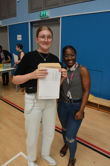 Hasn yr11 GCSE results day 22nd august 2019 10