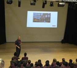 Firefighter Guest Visit During Careers Week