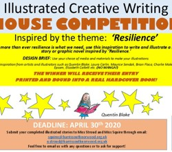Illustrated Creative Writing House Competition