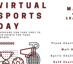 HASN Virtual Sports day Thurs 21st May