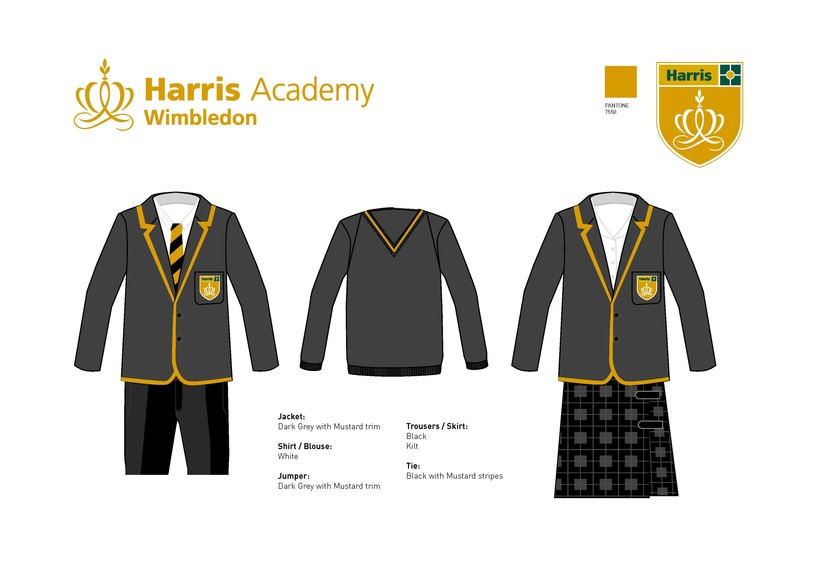 Harris Wimbledon Uniform Board