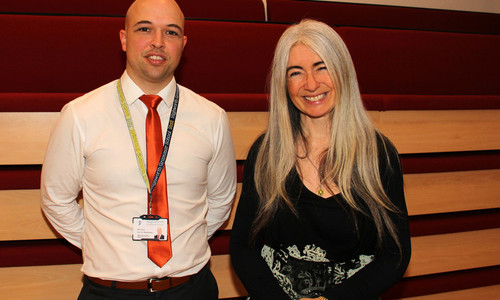 Dame Evelyn Glennie at Highworth