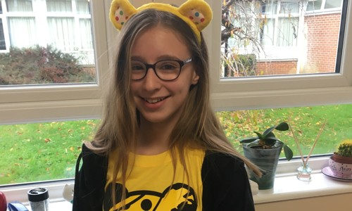 Children in Need support