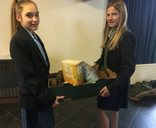 Salvation army collection students