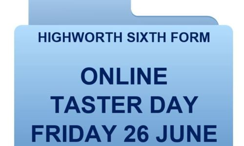 Highworth Sixth Form Online Taster Day