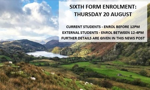 Sixth Form Enrolment Information