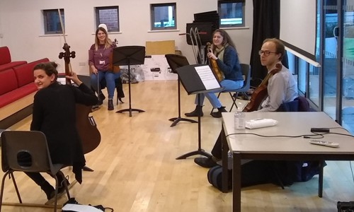 String Quartet Composition Workshop