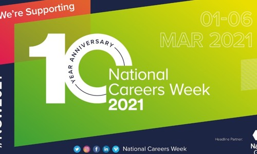 National Careers Week 1-6 March 2021