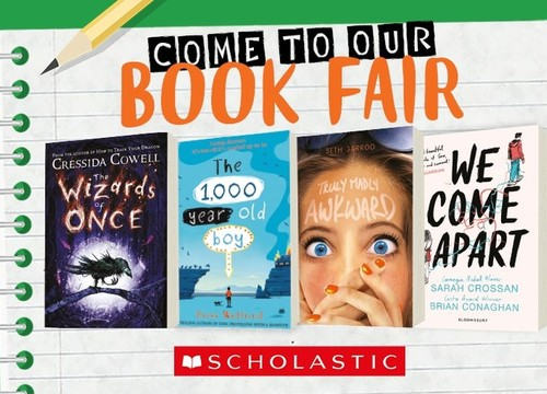 Scholastic Book Fair: 26/4-2/5
