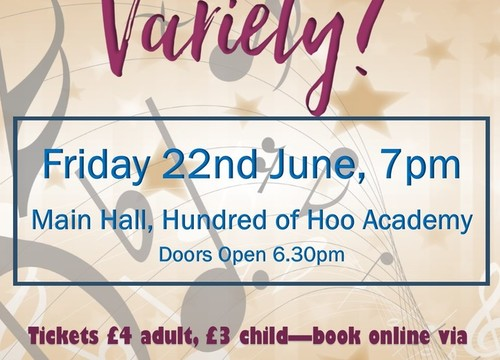 The Hundred of Hoo Academy presents - 'Hoo loves Variety '