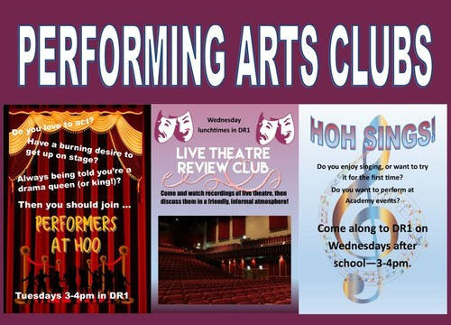 Performing Arts Clubs