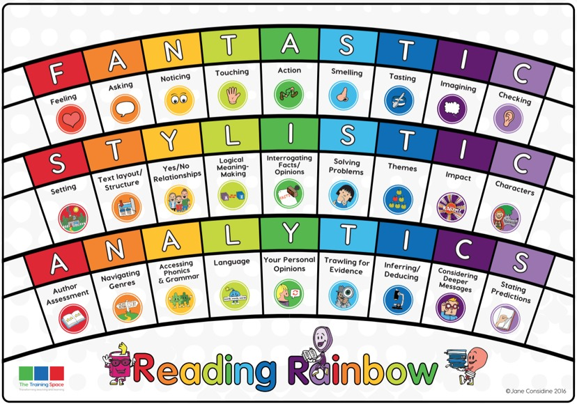 Reading Rainbows