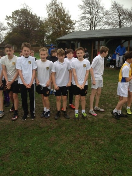 Year 8 and 9 cross country team