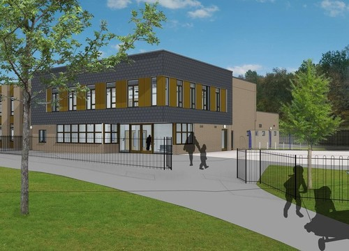 See a time lapse of our new primary school being built.