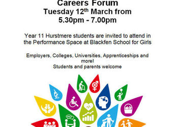 Careers Forum - 12th March 2019 - Blackfen School for Girls
