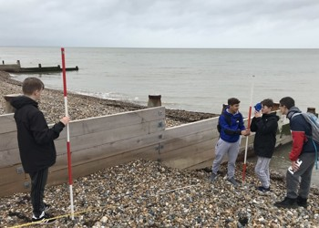 Yr11 Geography Fieldwork at Herne Bay