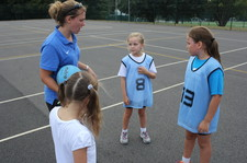 Year 5 netball session 1 2