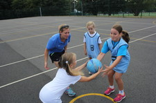 Year 5 netball session 1 3