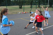 Year 5 netball session 1 9