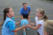 Year 5 netball session 1 12