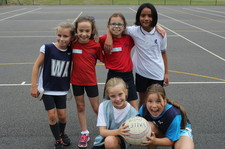 Year 5 netball session 2