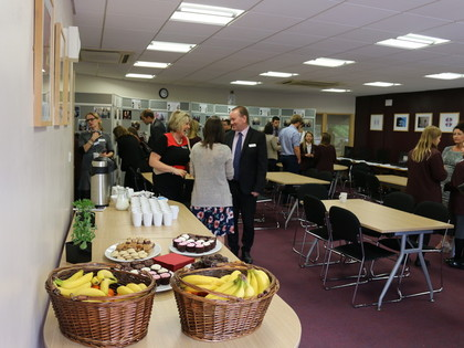 2016 Year 7 Afternoon Tea with Primary Headteachers