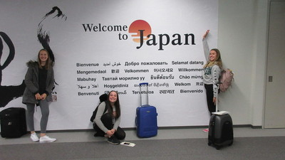 World School Delegates arrive in Japan