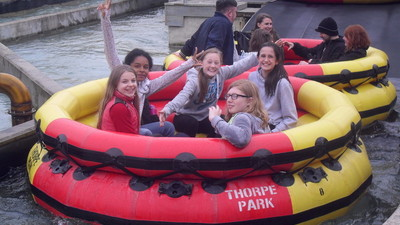 Choir Trip to Thorpe Park