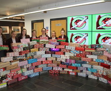 Operation christmas child boxes nov 16 10