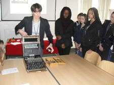 Year 9 bletchley park 74