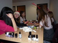 Year 6 girls night in december 16