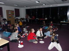 Year 6 girls night in december 17