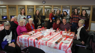 Invicta Over 60's Christmas Lunch