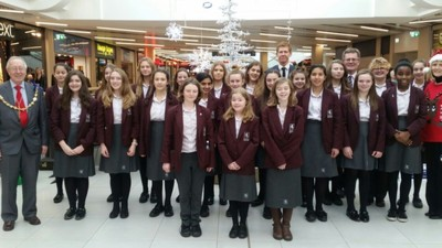 Carols in The Maidstone Mall