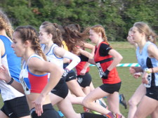 U13 athletics cross country 3