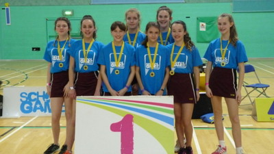 Kent Schools Sporthall Athletics Final - Year 8 Success