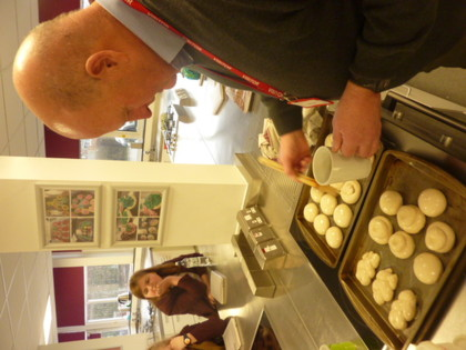 2017 Year 9 Bread Making Demonstration